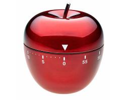 Кухонный таймер Яблоко красный