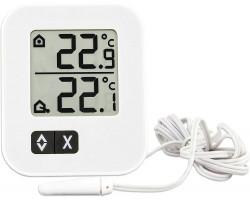 """Термометр цифровой TFA """"Moxx"""" внешний проводной датчик, белый"""