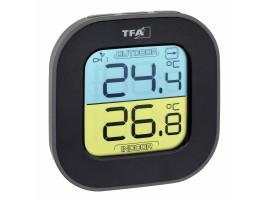 "Термометр цифровой TFA ""Fun"" внешний радиодатчик"