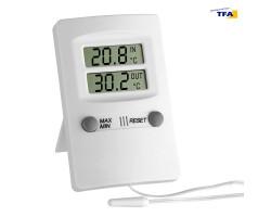 Термометр цифровой TFA 301009 внешний проводной датчик