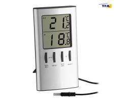 Термометр цифровой TFA 301027 наружный проводной датчик