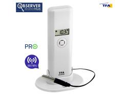 Датчик температуры и влажности TFA WeatherHub Observer PRO, проводной сенсор