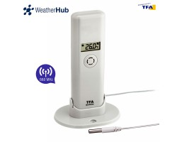 Датчик температуры и влажности TFA WeatherHub, проводной сенсор