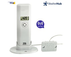 Датчик температуры и влажности TFA WeatherHub, проводной детектор воды - датчик подтопления