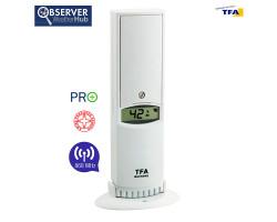Датчик температуры и влажности TFA WeatherHub Observer PRO