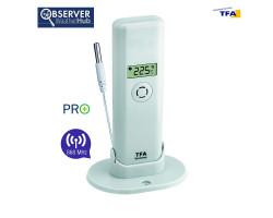 Датчик температуры TFA WeatherHub Observer PRO, проводной сенсор