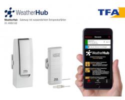TFA WeatherHub Стартовый комплект с датчиком температуры с водонепроницаемым кабельным датчиком