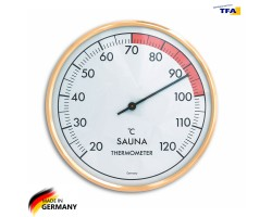 Термометр для сауны TFA, пластик, d=160 мм
