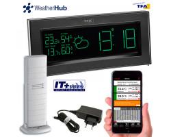 Метеостанция TFA Color Sharp WeatherHub