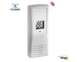 Датчик температуры и влажности 433 МГц TFA 30320802