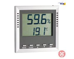 """Гигрометр термометр TFA """"KLIMA GUARD"""" с сигнализацией"""