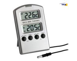 Термометр цифровой TFA 301020 внешний проводной датчик