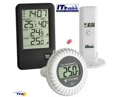 """Термометр для бассейна TFA """"Malibu"""" с датчиком поплавком"""