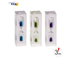 Часы песочные TFA фиолетовые