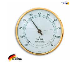Термометр для сауны TFA, пластик, d=100 мм