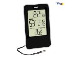 Термогигрометр цифровой TFA, внешний проводной датчик