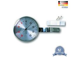 Термометр оконный TFA, нержавеющая сталь, d=67 мм