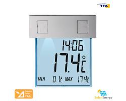 Термометр оконный TFA Vision Solar с подсветкой